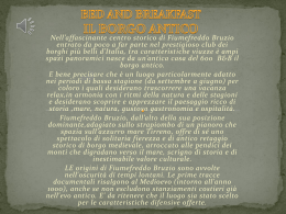 BED AND BREAKFAST IL BORGO ANTICO