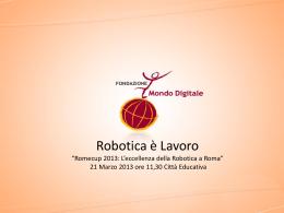 Robotica Lavoro Mirta Michilli