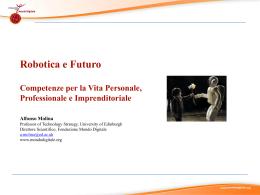 Robotica e Futuro Alfonso Molina