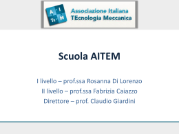 Scuola AITEM – Power Point
