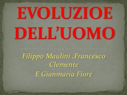 EVOLUZIOE DELL*UOMO