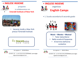 Flyer English Camps 2015