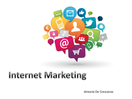 Presentazione Marketing – Antonio_De