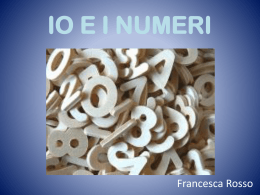 IO E I NUMERI - WordPress.com