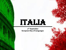 ITALIA - Europe Direct North East England