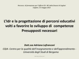 """""""competenza""""? - IRC Cagliari"""