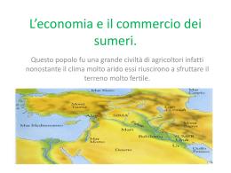 L`economia e il commercio dei sumeri fornoni s