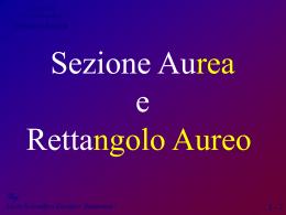 SezioneAurea