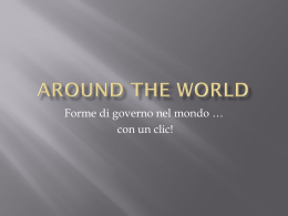 Around the World (C) - Blog di geostoriaperte