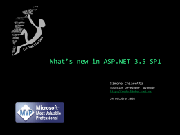 Introducing ASP.NET MVC Framework