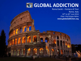 PowerPoint Presentation - Global Addiction Conference