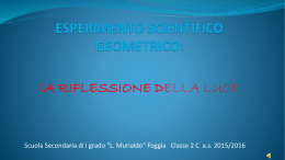 ESPERIMENTO SCIENTIFICO-GEOMETRICO 1