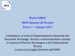 Presentazione di PowerPoint - Tecnologo, Tecnico ed Amministrativo