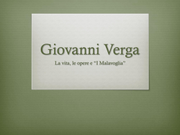 Giovanni Verga - WordPress.com
