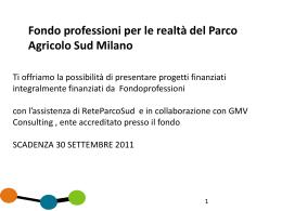 Presentazione_fondo_professioni_rps - ReteParcoSud