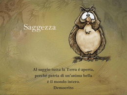 Pps Saggezza III - Partecipiamo.it