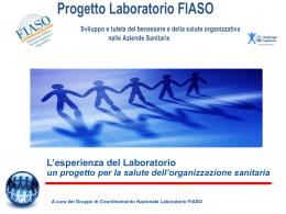 Progetto FIASO - Laboratorio nazionale