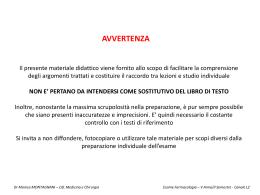 FARMACI ANTIARITMICI - Università degli Studi di Bari