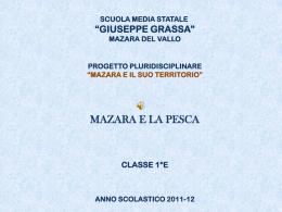 Mazara e la pesca! - Scuola Media Statale Giuseppe Grassa