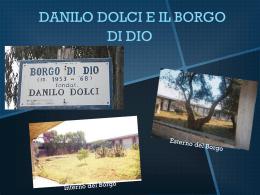 DANILO DOLCI_IL BORGO DI DIO