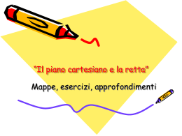 piano cartesiano: sintesi in power point