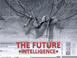 "Primo classificato: ""The future intelligence"""