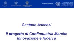 Progetto MI 2 - Confindustria Marche