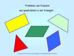 Problemi geometrici con frazioni