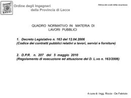 1-INTERO CORSO - Ordine degli Ingegneri della provincia di