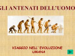 Gli antenati dell`uomo