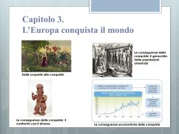 Capitolo 3. L`Europa conquista il mondo