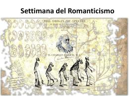 Settimana Romanticismo