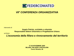 prima parte - Federcomated e internet