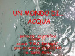 Un mondo di acqua ( Mb 2,37)
