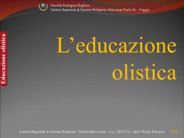 L`educazione olistica