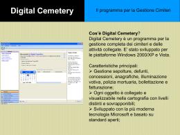 Digital Cemetery - Gerundocoop-servizi per Enti Locali e Aziende