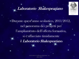 Laboratorio Shakespeariano