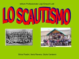 Lo scautismo - Istituto Einaudi Lodi