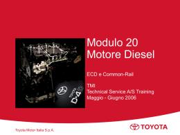 Motori diesel TOYOTA