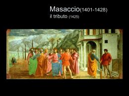 Masaccio(1401-1428) il tributo