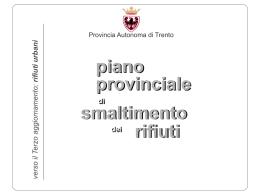 indirizzi strategici - Provincia autonoma di Trento