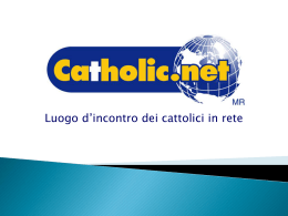 Catholic.net - Casa Protetta, servizio internet di Davide.it