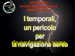 I temporali: un pericolo per la navigazione aerea