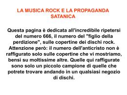 Ricorrenza del 666 nel rock