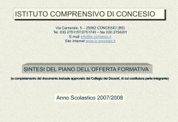 S.VIGILIO - istituto comprensivo di concesio
