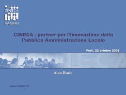 Buda - CINECA - Provincia di Forlì