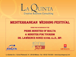 Mediterranean Wedding Festival
