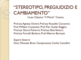 presentazione in power point - Liceo Ginnasio Statale V.Monti