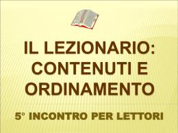Diapositiva 1 - Parrocchia S.Lucia