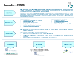 Progetto Net Sud - LUISS Business School
